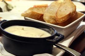Spicy crab fondue