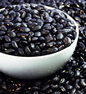 Eat black beans for a good mood