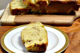 Cinnamon almond loaf