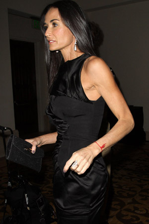 Demi Moore hospitalized