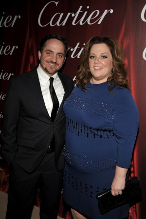 Melissa McCarthy and Ben Falcone at the 2012 Palm Springs Film Festival Awards Gala