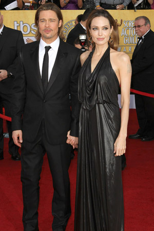 SAG Awards Best Dressed -- Angelina Jolie