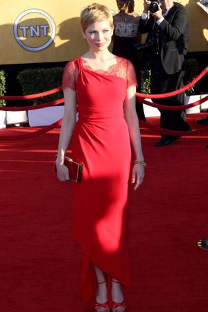 SAG Awards Best Dressed -- Michelle Williams