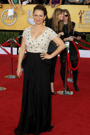 SAG Awards Worst Dressed -- Maya Rudolph