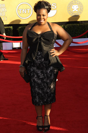 SAG Awards Worst Dressed -- Amber Riley