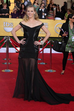 SAG Awards Worst Dressed -- Heather Morris