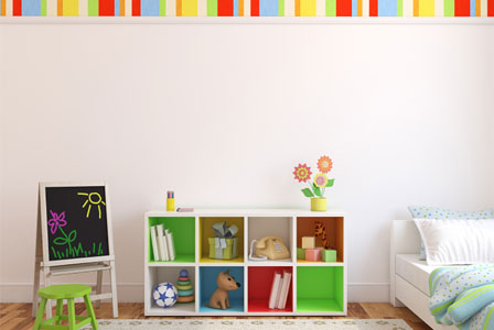 Organized kid's room