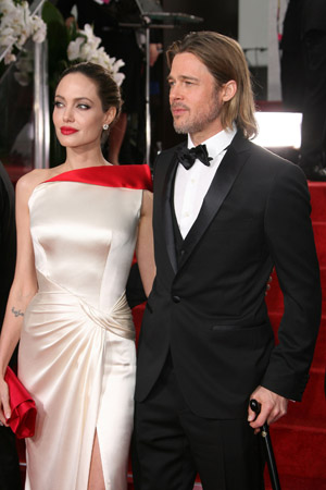 Angelina Jolie and Brad Pitt are both pretty