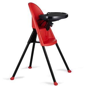 BabyBjorn red high chair
