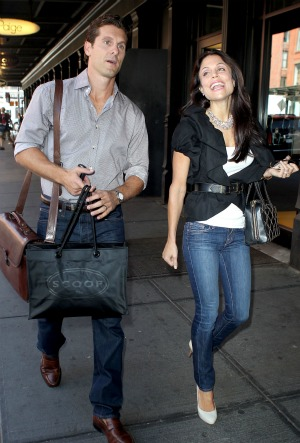 Bethenny Frankel and her husband