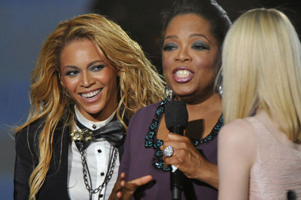 Oprah might be Blue Ivy Carter's godmother