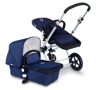 Bugaboo navy stroller