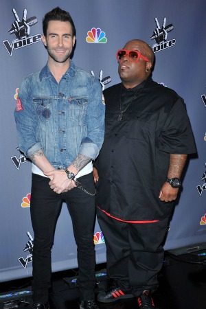 Adam Levine Cee Lo Green
