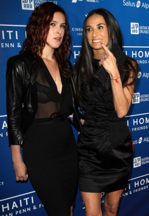 Rumer Willis Demi Moore