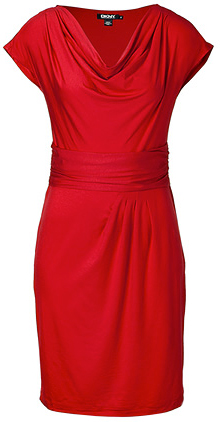 DKNY jersey dress (stylebop.com, $250)