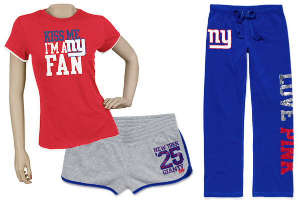 Giants football clothes