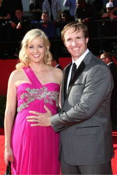 Drew Brees and pregnant wife, Brittany