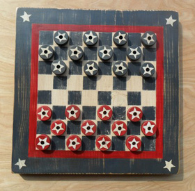 American 4 star checker board