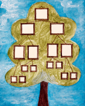 Creating a family tree