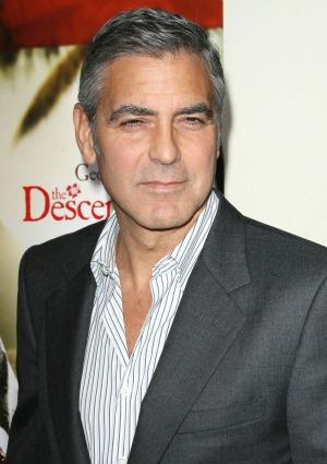 George Clooney and Viola Davis in EW