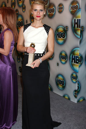 Golden Globes Best Dressed Claire Danes
