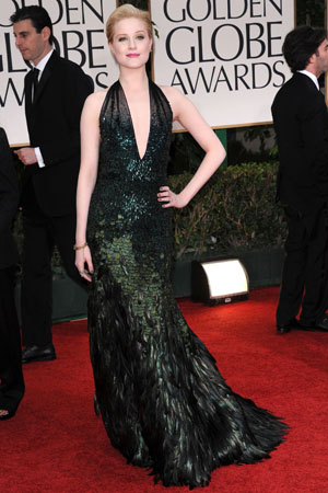 Golden Globes Best Dressed Evan Rachel Wood