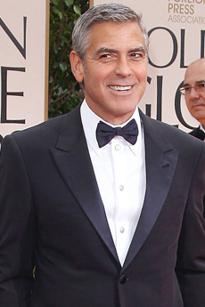 George Clooney - 69 Annual Golden Globe Awards