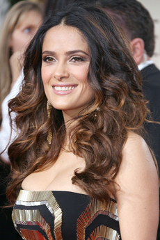 Salma Hayek - 69 Annual Golden Globe Awards