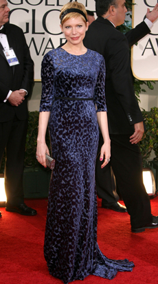 Michelle Williams -- 69 Annual Golden Globe Awards