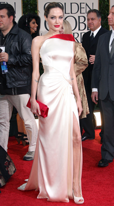 Angelina Jolie -- 69th Annual Golden Globe Awards