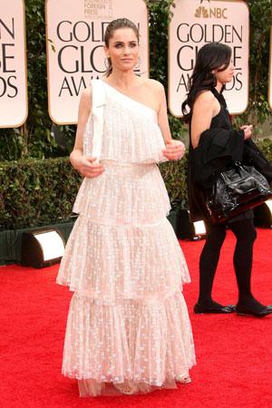 Golden Globes Worst Dressed Amanda Peet