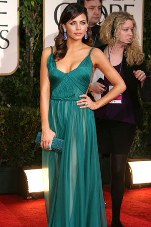 Jenna Dewan at the Golden Globes
