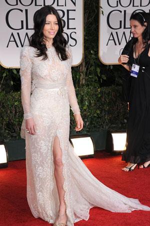 Golden Globes Worst Dressed Jessica Biel