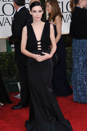 Golden Globes Worst Dressed Rooney Mara