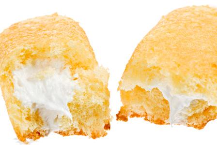 Homemade Twinkie