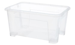SAMLA clear box