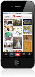 Pinterest on iPhone