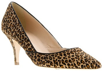 J Crew Valentina Calf Hair Pumps