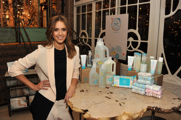 Jessica Alba's Honest eco-friendly products