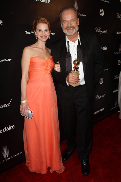 Kelsey Grammer and Kayte Walsh pregnant
