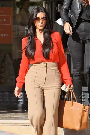 Kim Karadashian: Curves ahead