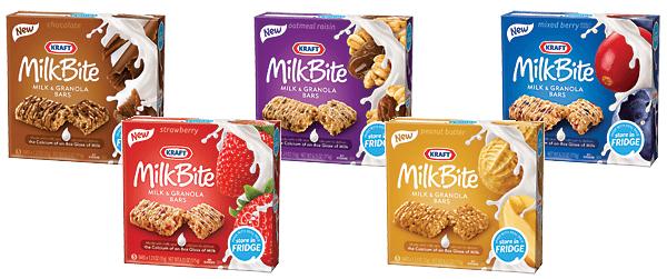 Kraft MilkBite