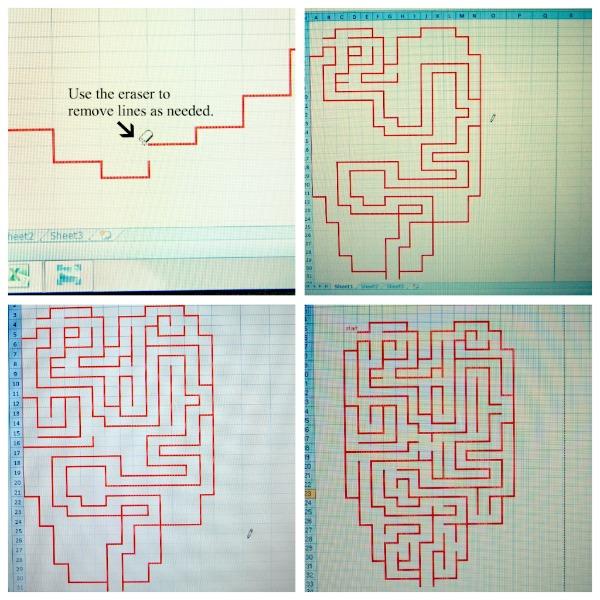 heart maze 3