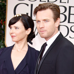 Ewan McGregor and wife, Eve Mavrakis