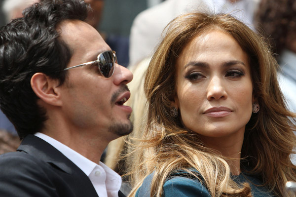 Marc Anthony and Jennifer Lopez divorce