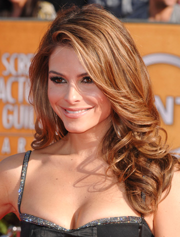 Maria Menounos SAG awards curly hair