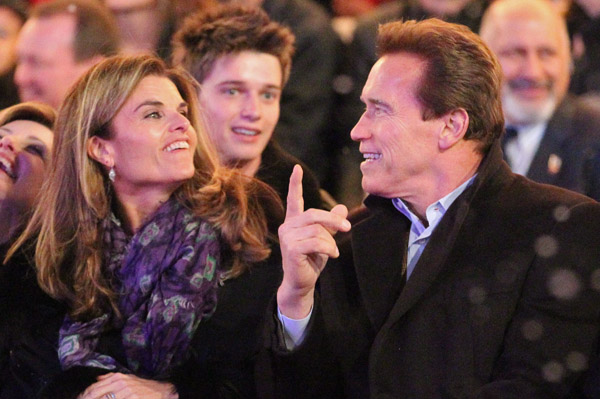 Maria Shriver and Arnold Schwarzenegger divorce