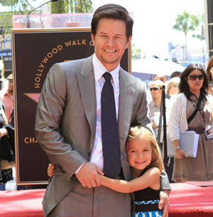 Mark Wahlberg and daughter