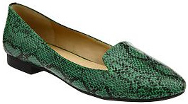 Old Navy Faux-Snakeskin Flat