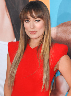 Olivia Wilde's long hair